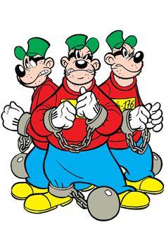 La banda bassotti sono veramente out!! Non vorrei avere nessun gadget con loro sopra!!