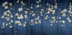 Chinoiserie Papers » Tara Magnolia | Griffin & Wong