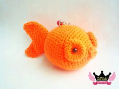 Crochet+Creations+Patterns | goldfish amigurumi pattern