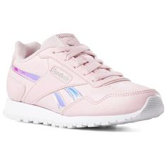 47378a5a47f Reebok Shoes Unisex Classic Harman Run in Practical Pink White Size 3.5 -  Retro Running