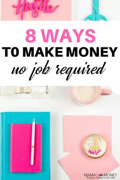 8 Ways to Make Money-No Job Required - Mama's on Money Work From Home Jobs, Make Money From Home, Way To Make Money, How To Make, Business Funding, Business Tips, Earn Money Online, Mom Blogs, Healthy Kids
