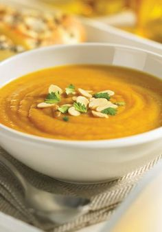 Curried Butternut Squash and Chestnut Soup