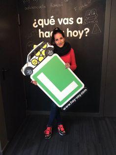PAULA LEÓN!!! #hoyvoy #autoescuela #granollers