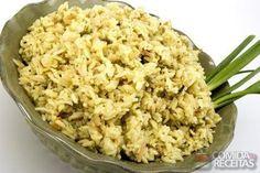 Receita de Arroz de ervas aromáticas em receitas de arroz, veja essa e outras receitas aqui!
