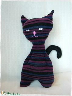 Kópé - csíkos cica (Blackata) - Meska.hu
