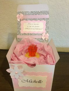 Will You Be My Bridesmaid Gift Box on Etsy, $15.00