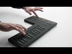 This is Seaboard Block. A Super Powered Keyboard. Noise App, Digital Instruments, Modern Tech, Pc Setup, Design Research, Screen Design, Sound Design, Smart Design
