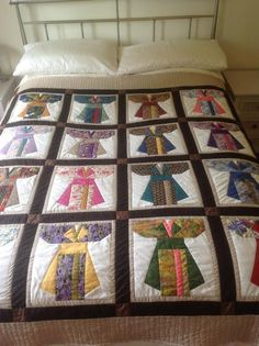 Kimono quilt - via @Craftsy