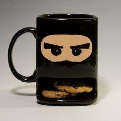 Cookie Ninja Mug | 17 Mugs You Wish YouHad