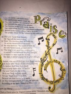 Psalm 33. Sing unto the Lord a new song.