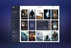 movie app interfaces - Google Search