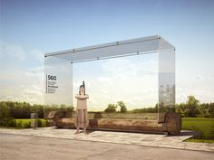 Bus Stop Concept on Behance