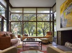 Lake Shore Drive House in Chicago by Wheeler Kearns Architects