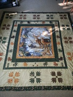 This Is The 2012 Fire Dept Raffle Quilt Made With The