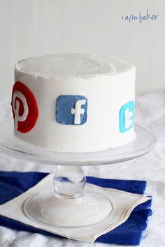 The social media cake