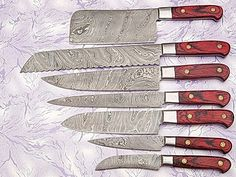 XITUO Best 3 Pcs Kitchen Knives Sets Japanese Damascus Steel Pattern Chef  Knife Sets Cleaver Paring Santoku Slicing Utility Tool | Pinterest | Kitchen  ...