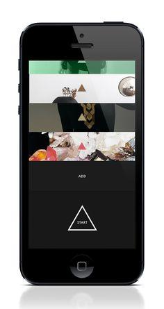 next™ iPhone App lookbook - Kusk