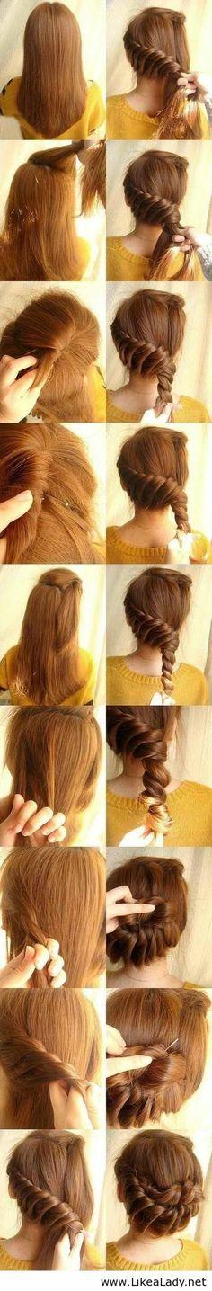 Amazing hairtyle tutorial