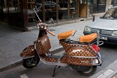 Motorbikes | 35 Things That Shouldn't Be Louis Vuitton-Monogrammed