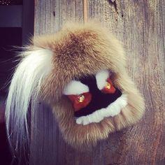 #fur #forbag #forkey #forkeys #forkeys #fendibag #pompom #peekaboo #pradaedwardrobot #accessories #accessoriesfurs #luxurybagcharm #bagbugs #bagcharm #chain #chains