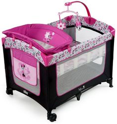 Disney Baby Pink Minnie Mouse Garden Delights Playard Play Pen Yard With Changer for sale online Minnie Mouse, Baby Equipment, Pack N Play, Baby Necessities, Baby Essentials, Baby Supplies, Baby Furniture, Baby Disney, Baby Accessories