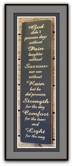 I want this to hang in my house for a daily reminder.