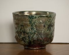 Maggie Keller, Raku Green Tea cup