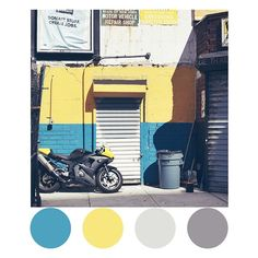 Art Director Creates Gorgeous Color Palettes Inspired By The Streets Of NYC