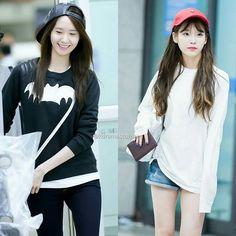 Yoona & IU simple & beautiful airport fashion. They love caps❤ . . #임윤아 #윤아 #소녀시대 #아이유 #이지은 #더케이투 #달의연인 #imyoona #yoona #snsd #thek2 #jichangwook #moonlovers #iu #leejieun #leejunki #leejoongi #dreamhigh #kimsoohyun #suzy #jojungsuk #hyung #myannoyingbrother #weightliftingfairykimbokjoo #namjoohyuk #leeminho #legendofthebluesea #kpopl4l