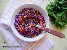 Salata de varza rosie cu quinoa Cereal, Picnic, Breakfast, Food, Morning Coffee, Eten, Picnics, Picnic Foods, Meals