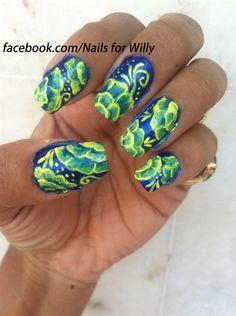 Fashion by valerieducharme nail art gallery nailartgallery one stroke nail art prinsesfo Choice Image