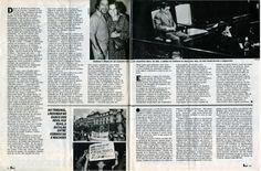 """""""Lindomar Castilho depois da condenação"""" - reportagem da revista """"Manchete"""" de 1984 - página 2/2."""