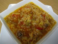 Dukan Diet Recipe Sweet and Sour Beef and Cabbage Soup