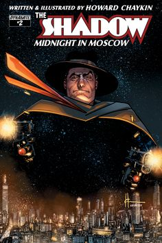 THE SHADOW: MIDNIGHT IN MOSCOW #2 by Howard Chaykin