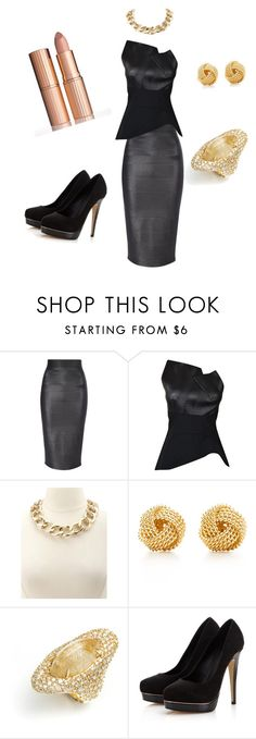 """Let's do the party to celebrate the +1000 followers yeahhhh"" by fatimode ❤ liked on Polyvore featuring Jane Norman, Roland Mouret, Charlotte Russe, Tiffany & Co., Alexis Bittar, Lipsy and Charlotte Tilbury"