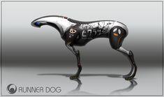 ArtStation - Robotic racing Dog, David Masson