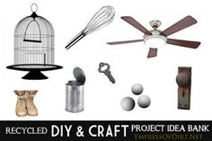 Idea Bank! Look up what you have and see what you can make with it!