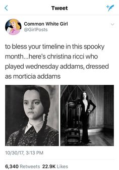 Maybe they should have her play Morticia in another remake. Or and Addams Family Next Generation Addams Family Quotes, The Addams Family, Aquarius, Funny Memes, Hilarious, Wednesday Addams, Film Serie, Make Me Happy, Foto E Video