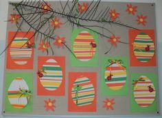 Velikonoční vejce - Hody, hody doprovody, dejte vejce ... proužkovaný