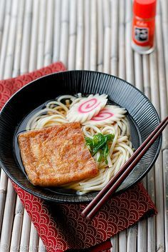 Kitsune Udon. For those days when you want something warm, delicious and fast but instant ramen won't cut it.