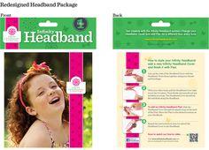 Cultiva Studio: Infinity Headbands PackageRedesign