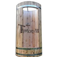 Outdoor wooden shower for sale