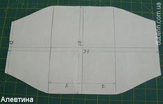 pattern for log cabin bag