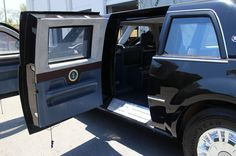 Cadillac Presidential Limo The Beast White House Down Replica Rear . Cadillac, General Motors, Tiny Trump, Radios, United States Secret Service, Cuba, Rv Floor Plans, Presidential History, Emergency Vehicles