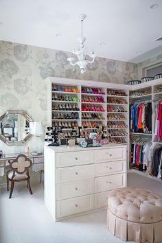Closet Ideas - Closet Room - Closets - Feng Shui Design Your Closet for Balance and Harmony with a Professional Consultation at www.DeniseDivineD.com/feng-shui-design