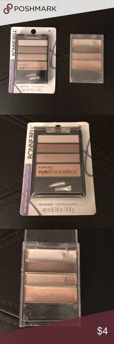 🆕 Bonnie Bell Cafe Classics Eyeshadow This was my young daughter's go-to palette and is a perfect shades for a young girl or those who prefer an understated look. It was discontinued, so I ordered a backup from Amazon. She received a high-end eyeshadow palette for her birthday and no longer uses. Makeup Eyeshadow