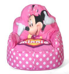 Disney Minnie Mouse Toddler Bean Bag Sofa Chair