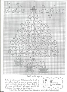 Arvore de Natal Christmas tree free cross stitch