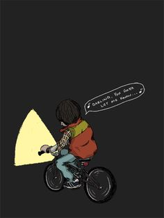 """You gotta let me know"" (Will Byers and the monster - Stranger Things)"
