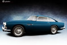 1961 Aston Martin DB4 Series IV Coupe by Touring